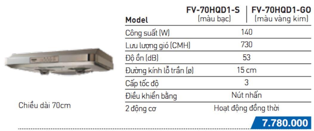 FV-70HQD1 –S